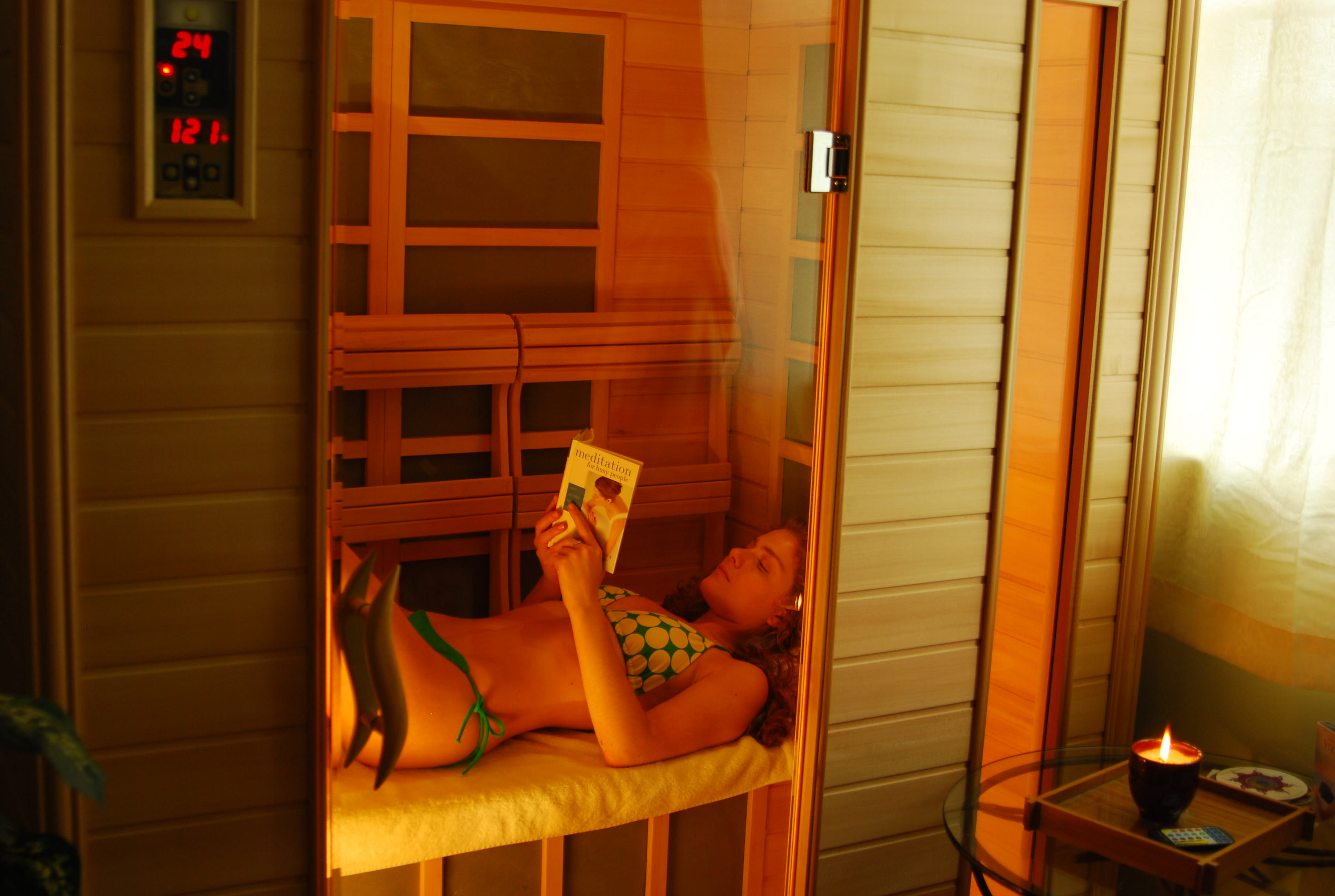 1 hour Infrared Sauna (5 session pass)